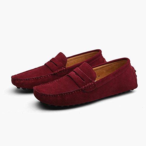 Shoes New Color 48 Women's Peas Shoes Shoes British Lun Size Outdoor Women's 2018 008 Daily Men's And Shoes Leather Shoes Casual Shoes Men's Flat Heel Travel d4BnqBX