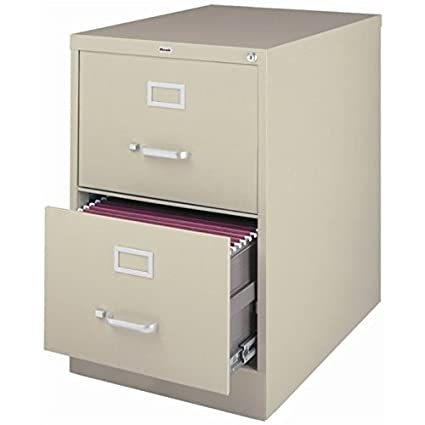 Amazoncom Pemberly Row 2 Drawer Legal File Cabinet In Putty