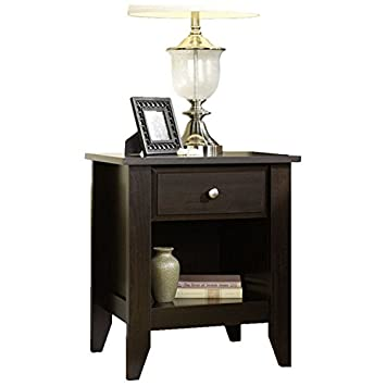 Andover Mills Revere Traditional Small Wooden Nightstand With 1 Drawer  Perfect For Bedroom Storage And Decor