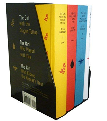 - (Stieg Larsson's Millennium Trilogy Deluxe Boxed Set))Stieg Larsson's Millennium Trilogy Deluxe Boxed Set:The Girl with the Dragon Tattoo, the Girl Who Played with Fire, the Girl Who Kicked the Hornet's[Hardcover]