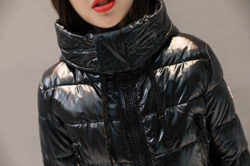 Amazon.com: Culturemart Womens Winter Jacket Girls Casual Parka Cotton-Padded Thick Warm Coat Stand Collar Female Hooded Outerwear: Kitchen & Dining