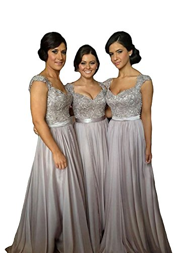 Buy silver gowns for weddings
