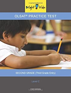 Olsat Practice Test Level C 3rd Grade Book By Bright Kids Nyc