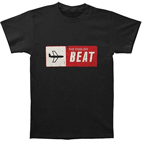 English Beat Mens Special Beat Service Black T Shirt X Large Black