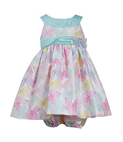 (Bonnie Jean Baby Girls Butterfly Spring Easter Dress, Mint, 3-6M)