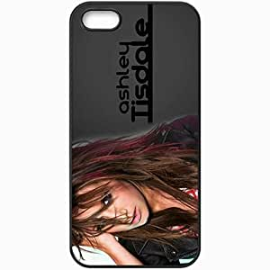 Personalized iPhone 5 5S Cell phone Case/Cover Skin Ashley Tisdale Black
