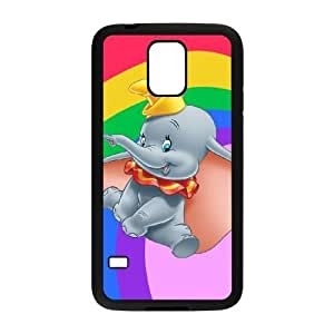 Samsung Galaxy S5 I9600 Phone Case Cute Elephant Protective Cell Phone Cases Cover TTR123525