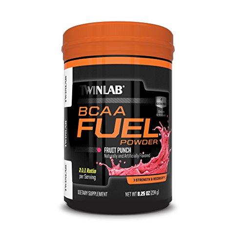 Twinlab BCAA Fuel Fruit Punch Powder, 234 Gram