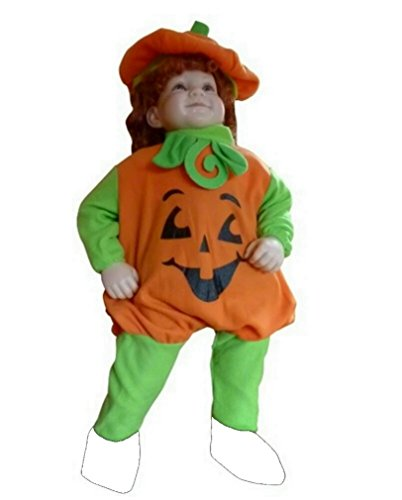 Halloween Costumes For Girls Age 12-13 (Fantasy World Boys/Girls Pumpkin Halloween Costume, Size 12-18 months, F69)