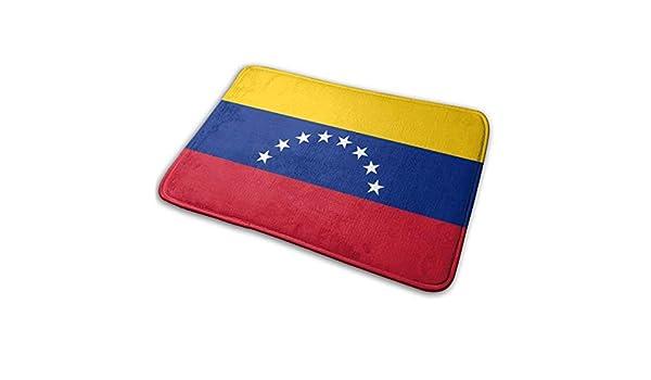 lkjhg478 Bandera de Venezuela Alfombra Interior Alfombra de Entrada de Goma Antideslizante Lavable a m/áquina 60 x 40 cm 24 x 16 Pulgadas