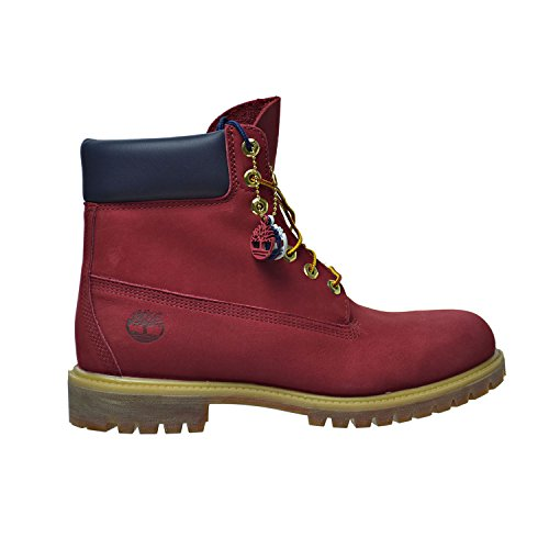 Timberland Mens 6 Classic Premium Boot Red
