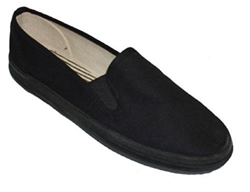 Heren Canvas Schoenen Sneakers Sneakers 3 Kleuren Beschikbaar Zwarte Decks