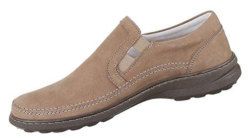 Herren Halbschuhe Schuhe Leder außen und innen Slipper Loafers Freizeitschuhe übergrößen schwarz weiss braun 41 42 43 44 45 46 47 Braun