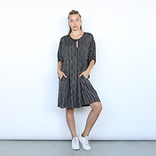 Christmas sale: Romi Dress, Grey Midi dress , Party Dress , Grey dress, plaid dress. by Naftul