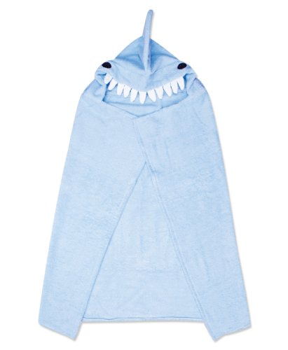 [Trend Lab Hooded Towel, Shark Character] (Labs Shark)