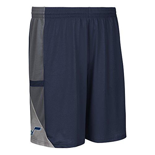 NBA Utah Jazz Men's Tip-Off Mesh Shorts, Medium, Navy