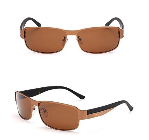 de conduisant Lunettes Lunettes revêtement soleil Pilote Soleil intérieur Lunettes lunettes à des Des Soleil de Mode de Hommes 1 de 3 Couleur polariseur FnqPTxS