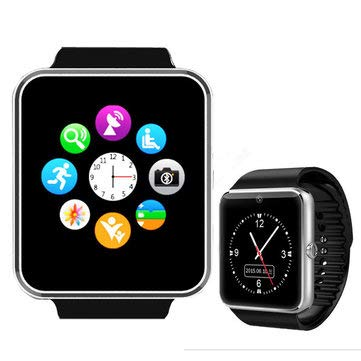 Amazon.com: GT08 MTK6261 - Reloj inteligente Bluetooth con ...