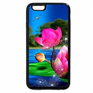 iPhone 6S / iPhone 6 Case (Black) Upon The Waters