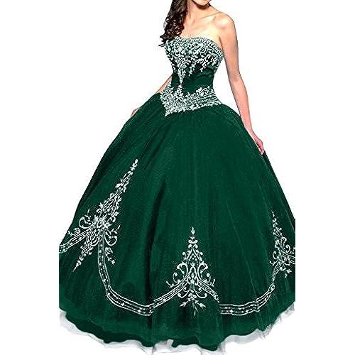 Green Quinceanera Dress: Amazon.com