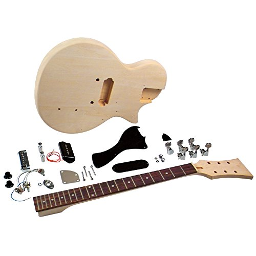 Saga LJ-10 Student Electric Guitar Kit - Single Cutaway