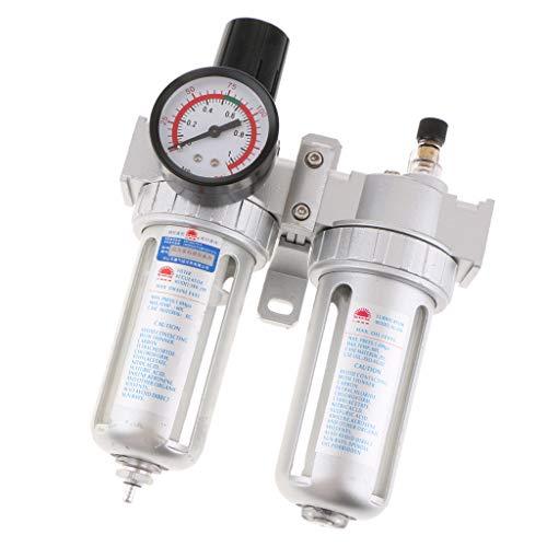Dovewill 1/4'' Air Compressor Moisture Water Trap Filter Regulator Separator SFC200 by Dovewill