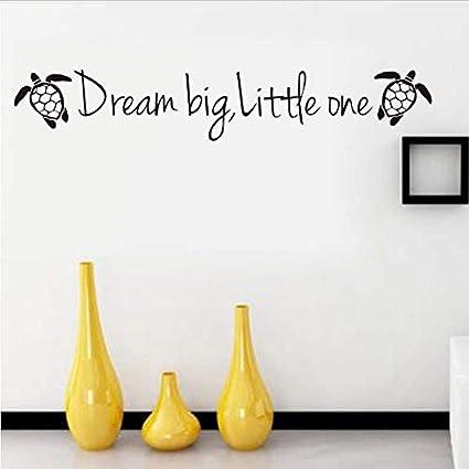 Amazon.com: Cartoon Turtle Wall Stickers Dream Size Small ...