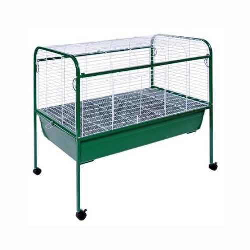 Prevue Hendryx 520 Small Animal Pet Cage / Carrier With Stand And Roll Caster (Prevue Hendryx Small Animal Playpen)