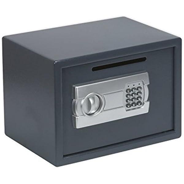 Sealey SECS01DS - Caja fuerte convencional (350 x 250 x 250 mm ...