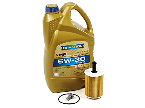 Blau J1A5005-B VW Golf VI Motor Oil Change Kit - 2010-14 w/4 Cylinder 2.0L TDI Diesel Engine -