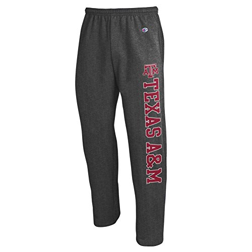 Elite Fan Shop Texas A&M Aggies Sweatpants Pockets Charcoal