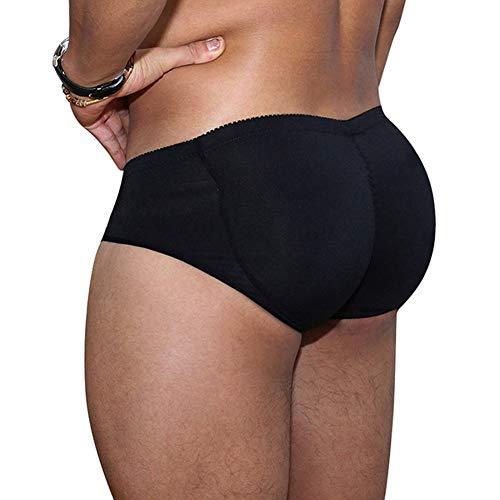 WW Men Butt Lifter Briefs Shaper Boxer Padded Enhancing Underwear Tummy Control Underwear,2,XXL