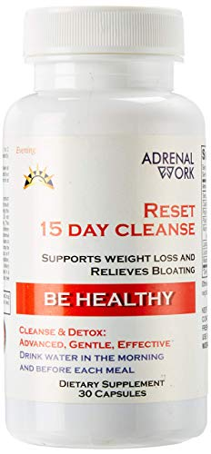 New. Advanced, Non-GMO Daily Cleanse: Colon Cleanse Detox Supplement to Reduce Bloat, Promote Weight Loss & Constipation Relief - 15 Day Cleanse, Lose Weight with This Organic Diet Pill. 30 Capsules