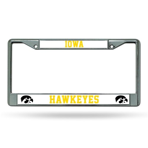 - NCAA Iowa Hawkeyes Chrome Plate Frame