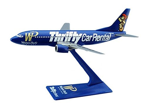 Flight Miniatures Western Pacific Thrifty Car Rental Boeing 737 300 1 200 Scale