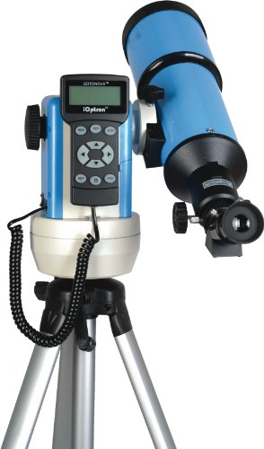 iOptron 9802B-A SmartStar-R80 GPS Computerized Telescope - Astro Blue with Carry Bag
