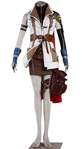 Dazcos Final Fantasy XIII Lightning Cosplay Costume (Lightning Final Fantasy Costume)