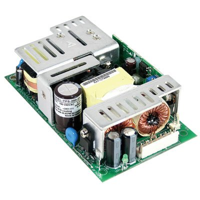 Mean Well PPS-200-24 Open-Frame Switching AC-to-DC Power Supply, Single Output, 24V, 0-8.3A, 199.2W, 1.4