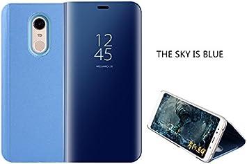 COVO® Funda para Xiaomi Redmi 5 Plus Espejo Flip Case Espejo ...
