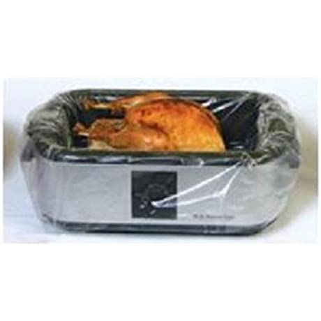 Pansavers 16 22 Quart Electric Roaster Liners And Large Hotel Pan Liners 50 Per Pack
