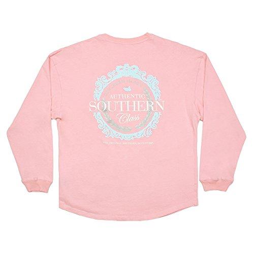 Rebecca Jersey - Southern (Embellished Long Sleeve Jersey T-shirt)