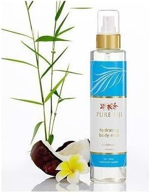 PURE FIJI Body Mist, Coconut, 7 Ounce