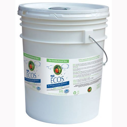 Ecos Liquid Laundry Detergent Free and Clear,5 gallon pail -- 1 - Gallon Liquid Pail 5