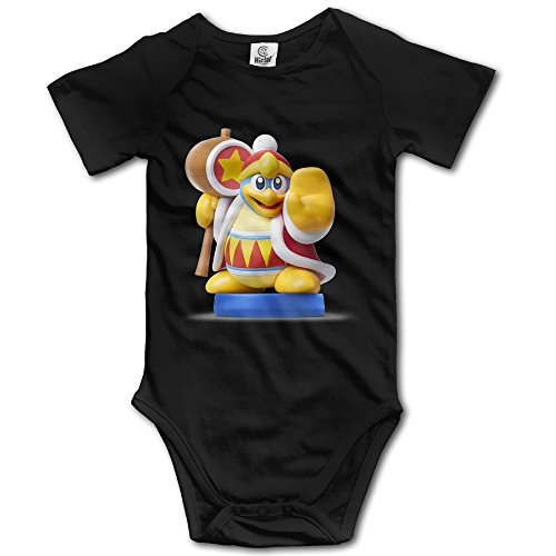 [King Dedede Amiibo - POY-SAIN Fashion Infant Baby Climb Jumpsuit Size6 M Black] (King Dedede Costume)