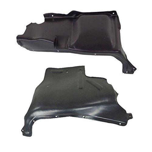 Koolzap For 06-10 VW Beetle 2.5L Front Engine Splash Shield Under Cover Left Right SET PAIR