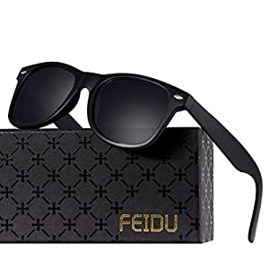 5f3d300e30d9 Polarized Sunglasses for Men Retro – FEIDU Polarized Retro Sunglasses for  Men FD2149