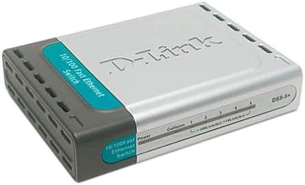 Desktop D-Link DSS-5 5-Port 10//100 Switch
