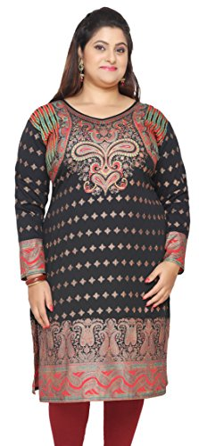 Maple-Clothing-Indian-Tunics-Kurti-Long-Top-Womens-Plus-Size-Apparel