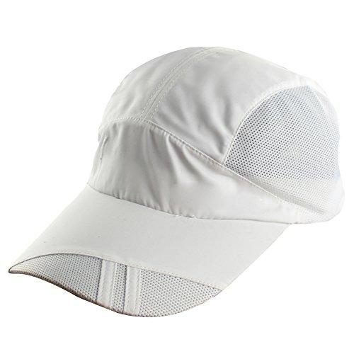 Mens Quick Dry Outdoor Sports Golf Baseball Race Day Running Mesh Hat Cap - Race Visors