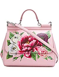 Women's BB6002AU619HDR40 Pink Leather Handbag